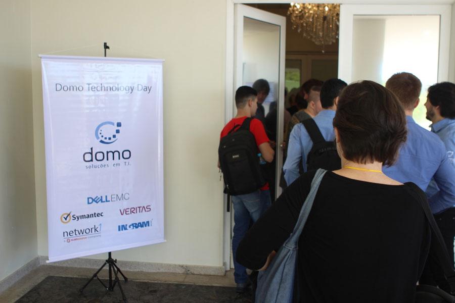 1º Domo Technology Day, que aconteceu em 11 de abril de 2018 no Infinity Blue Resort & Spa, em Balneário Camboriú, Santa Catarina.