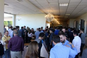 Coffee break - 1º Domo Technology Day, que aconteceu em 11 de abril de 2018 no Infinity Blue Resort & Spa, em Balneário Camboriú, Santa Catarina.